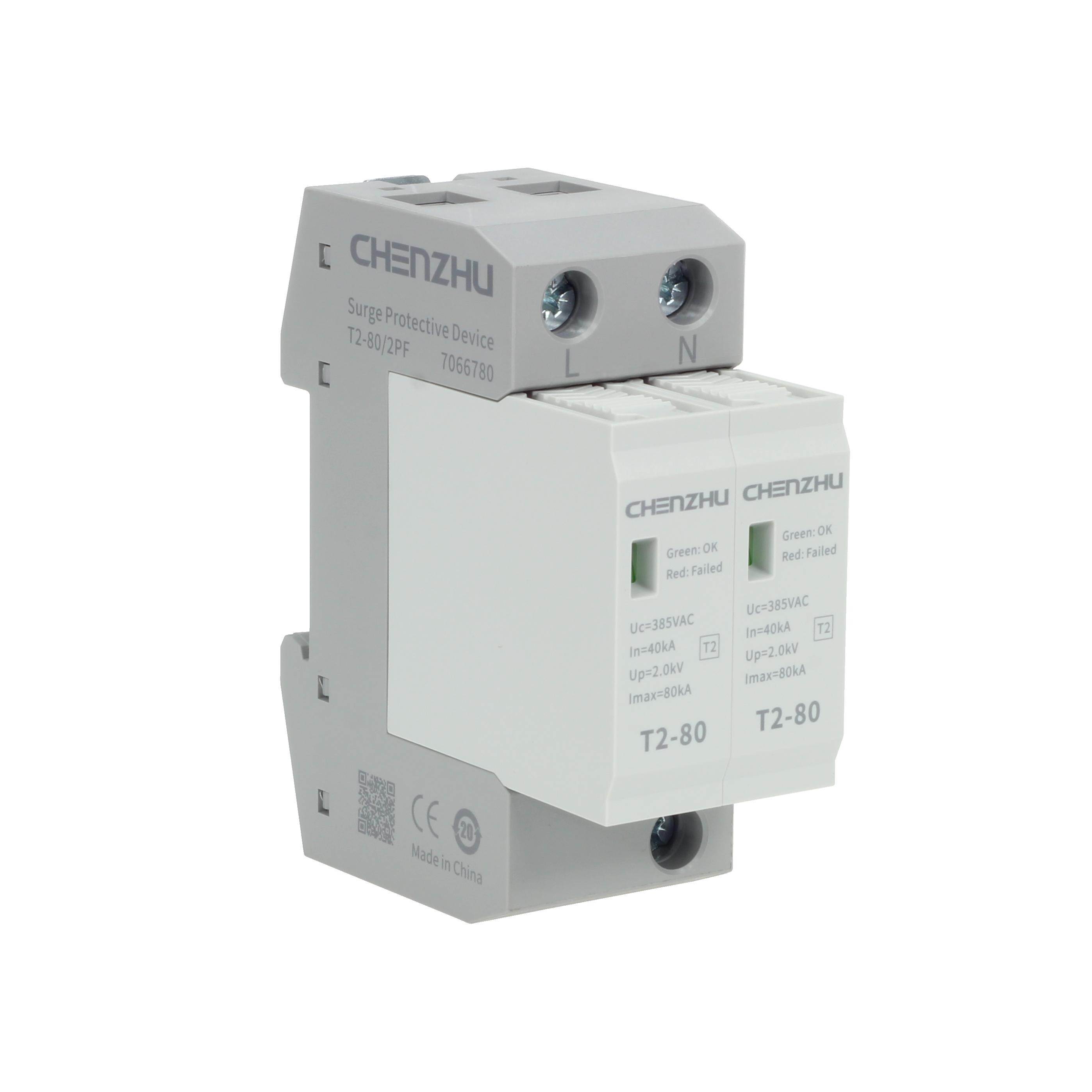 AC Power SPD (220/380VAC; Single phase TN; In=40kA; alarm output ) 7022515