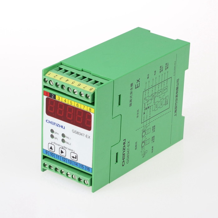 Fault alarm output Isolated Barrier(1 input/3 outputs)