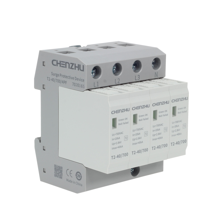 AC Power SPD (400/690VAC; Three phase TN-S; In=20kA; alarm output ) 7027571