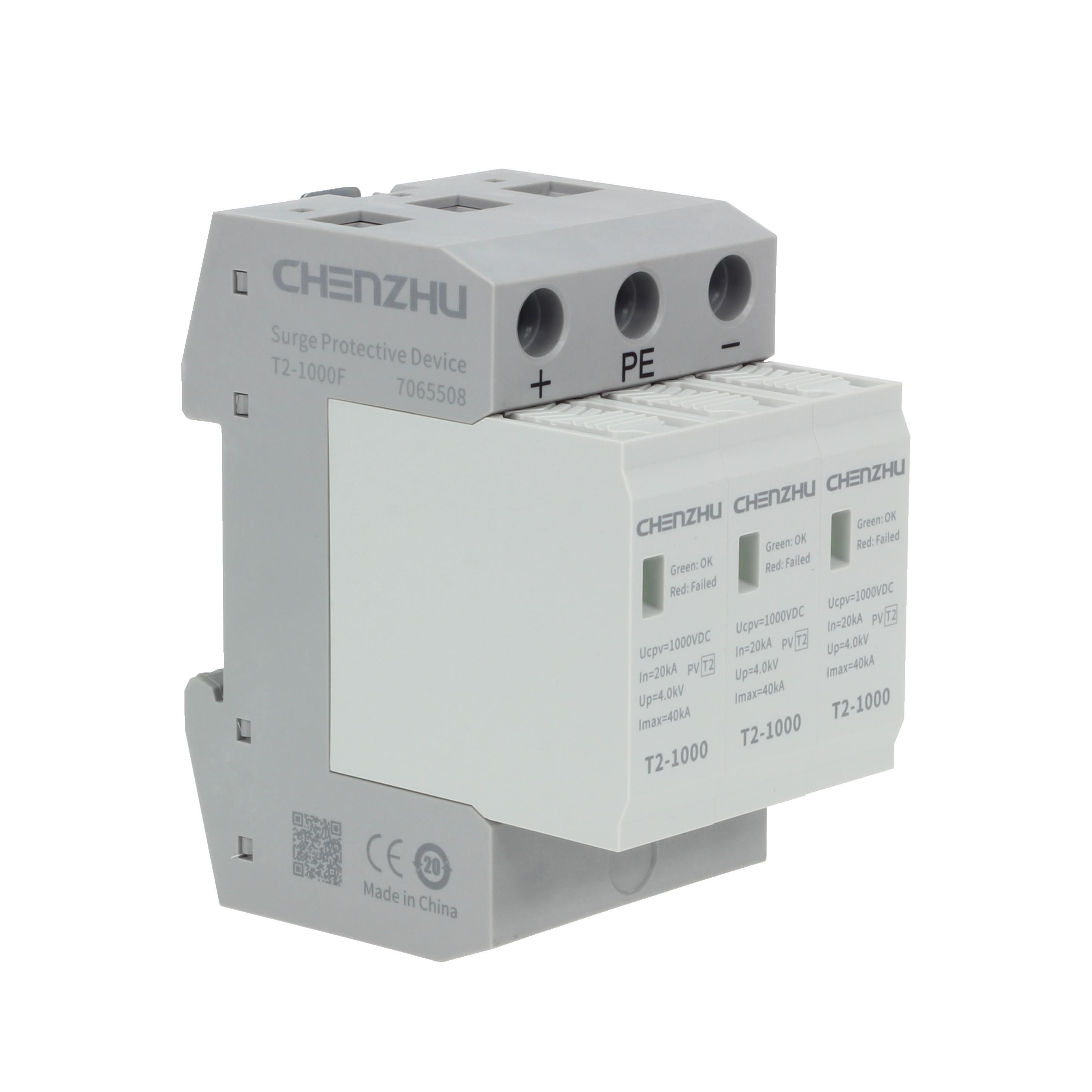 DC power SPD (1000VDC; alarm output ) 7099401