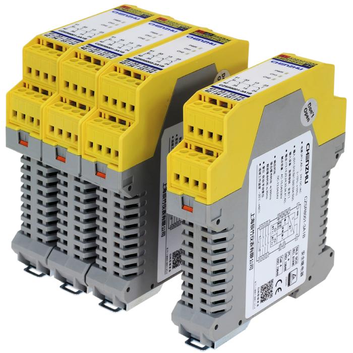 开关型安全设备输入 (NPN型安全光幕 24V DC 3NO+1NC 自动/手动复位)