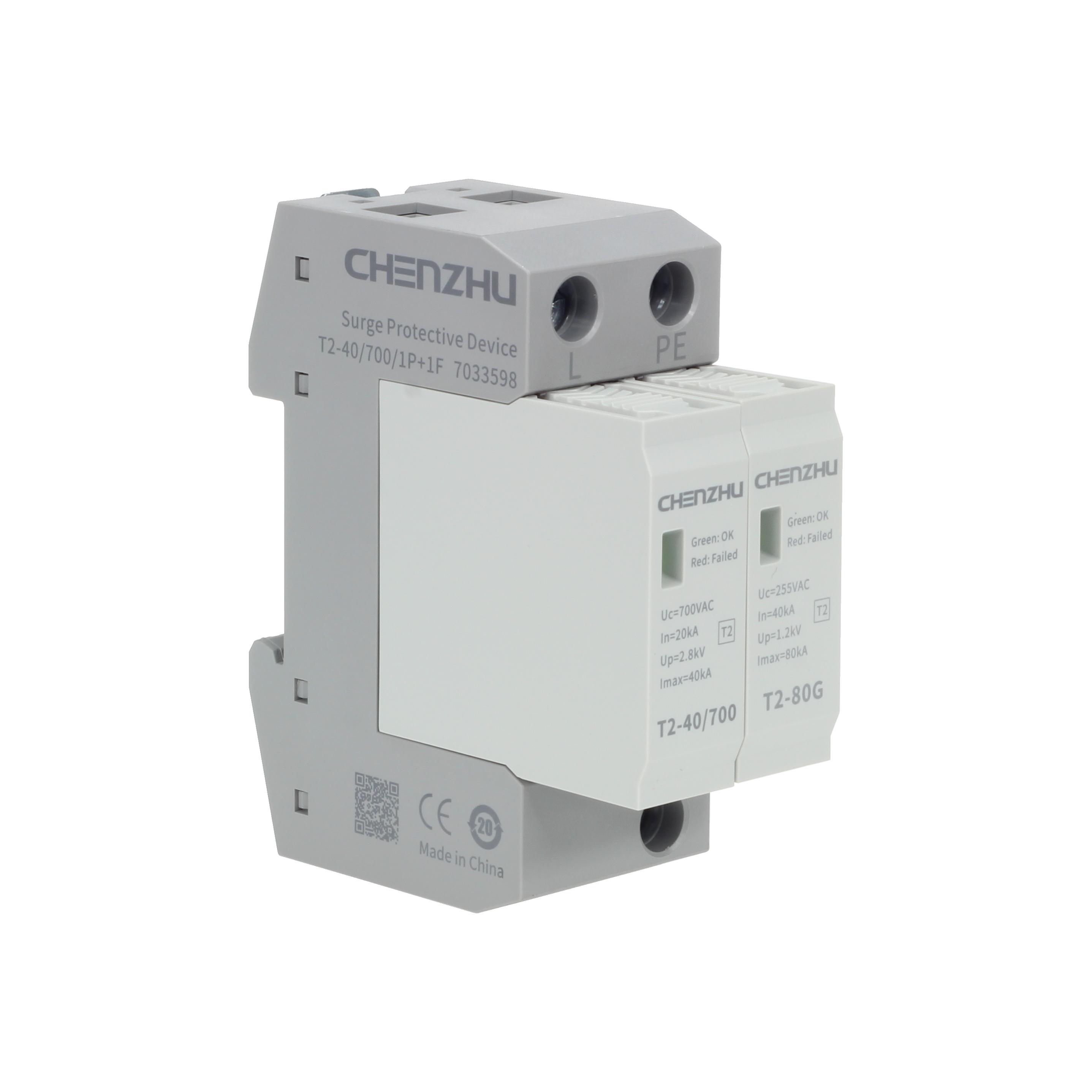 AC Power SPD (400/690VAC; Single phase TT; In=20kA; alarm output ) 7078124