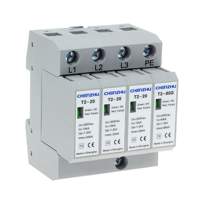 AC Power SPD (220/380VAC; Three phase TT; In=10kA ) 7085354