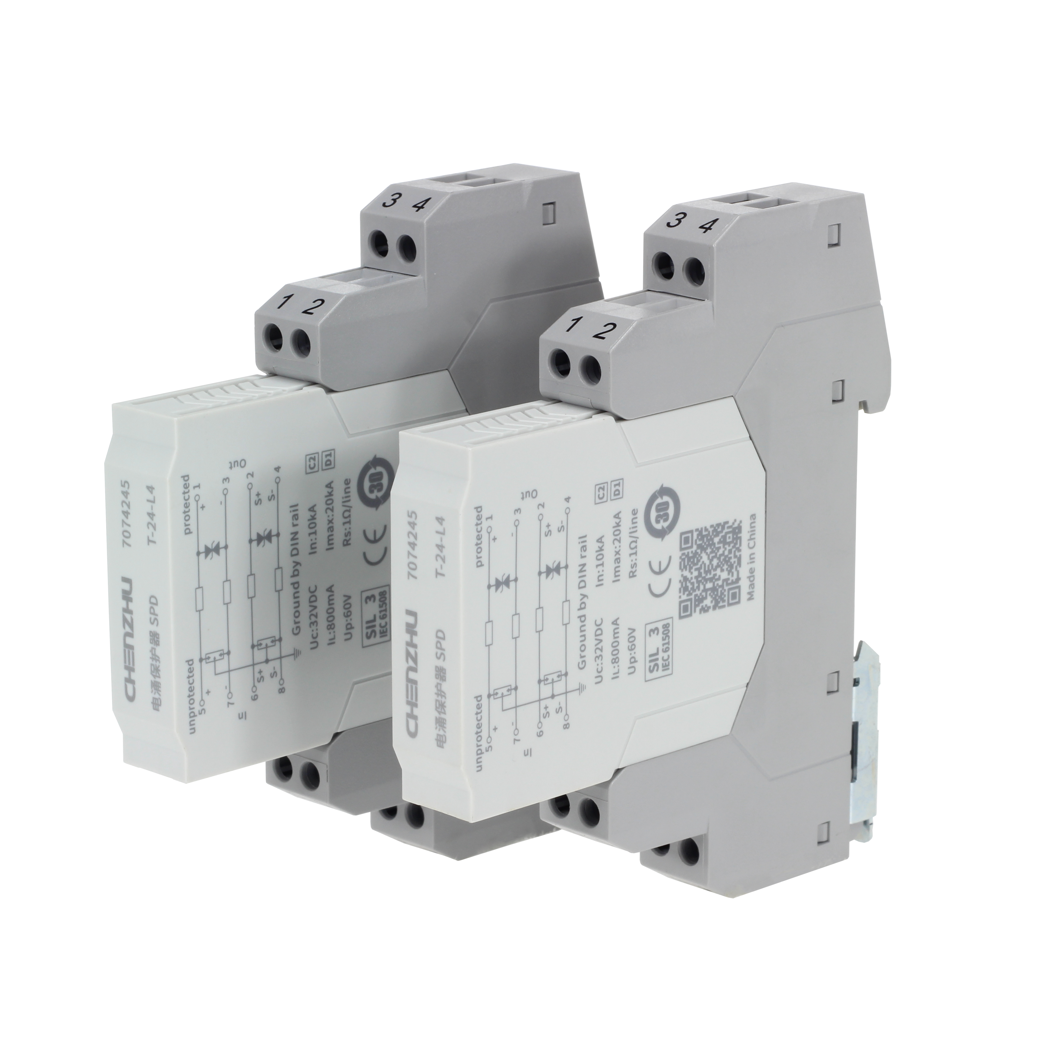 SPD for Signal (24V; 4 wires; In=10kA ) 7058070